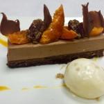 Dessert chocolat Saint-Sylvestre
